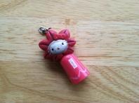 Hello Kitty flashlight/keyholder from Miyajima, Japan. No longer holds keys, no longer lights up. 7 years