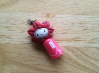 Hello Kitty flashlight/keyholder from Miyajima, Japan. No longer holds keys, no longer lights up. 7 years