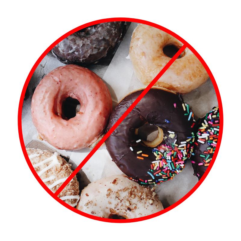 No donuts