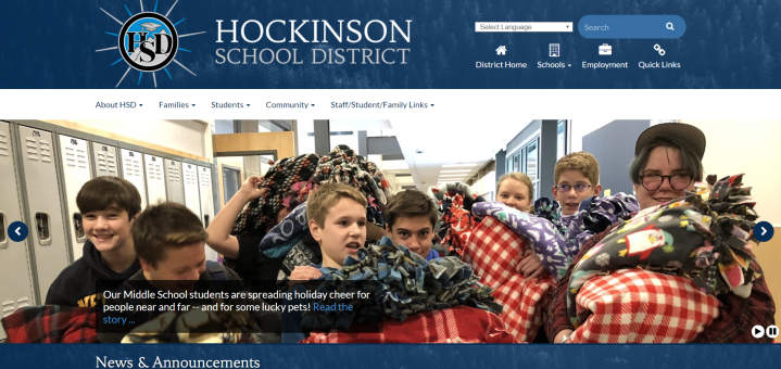 Homepage-Hockinson School District