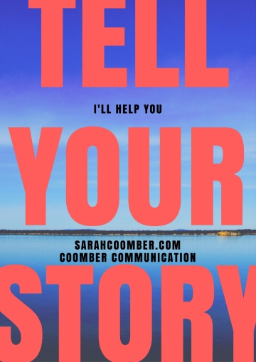 Tell your story -- flier