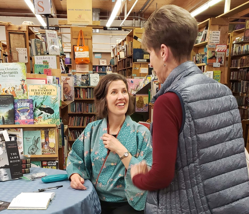 Book signing at Vintage Books, Vancouver, WA