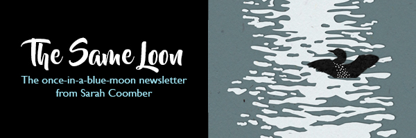 The Same Loon newsletter header